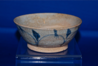 An attractive 18th Century glazed tea bowl from Thailand. SOLD